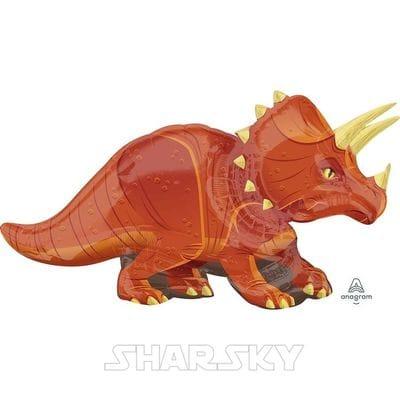 """Шар """"Динозавр Трицератопс"""", 106 см"""