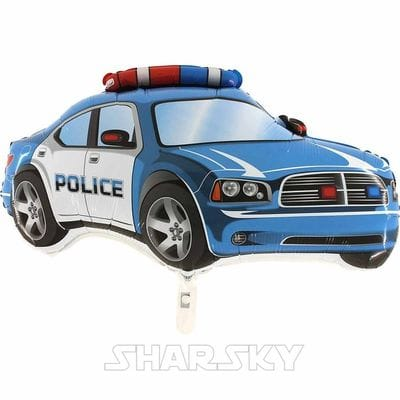 """Шар """"Полицейская машина"""", 78 см"""