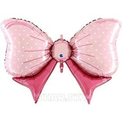 """Шар """"Розовый бант"""", 109 см"""