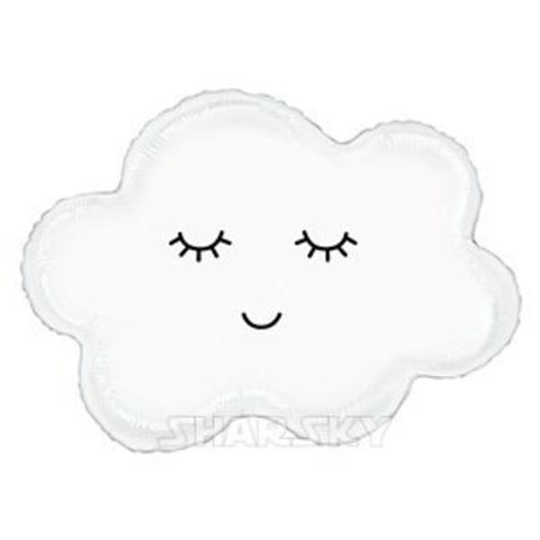 """Воздушные шары. Доставка в Москве: Шар """"Спящее облако"""", 76 см Цены на https://sharsky.msk.ru/"""