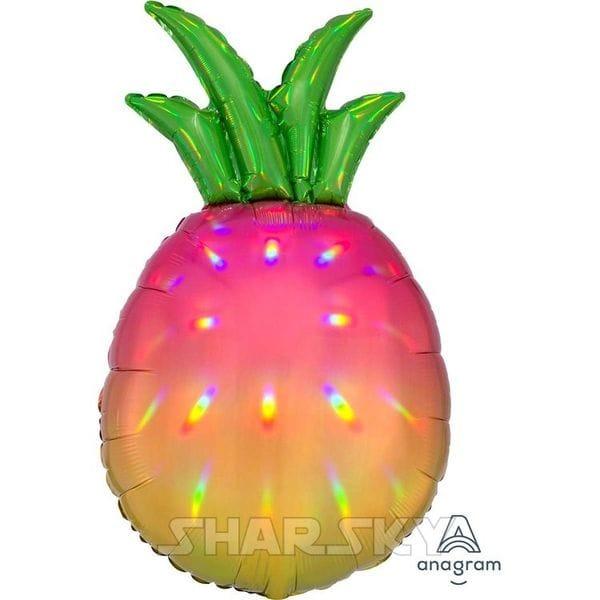 """Воздушные шары. Доставка в Москве: Шар """"Яркий ананас"""", 78 см Цены на https://sharsky.msk.ru/"""