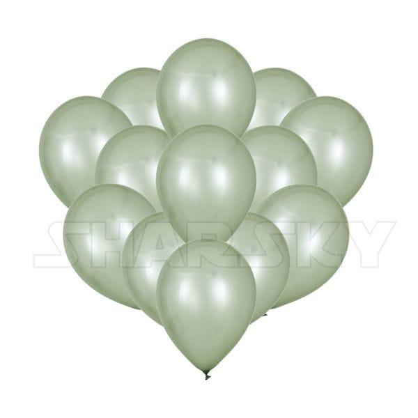 Воздушные шары. Доставка в Москве: Серебряные шары, 35 см Цены на https://sharsky.msk.ru/