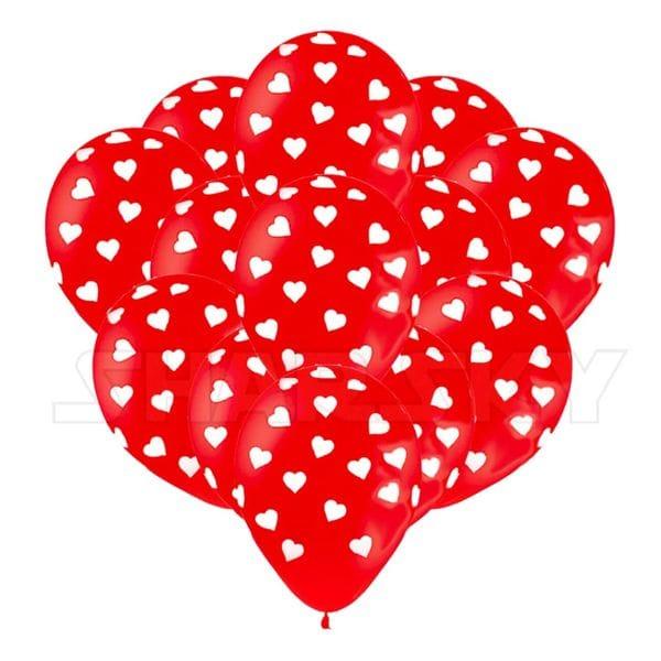 Воздушные шары. Доставка в Москве: Шарики с сердцами, 35 см Цены на https://sharsky.msk.ru/