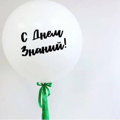 Большой шар на день Знаний