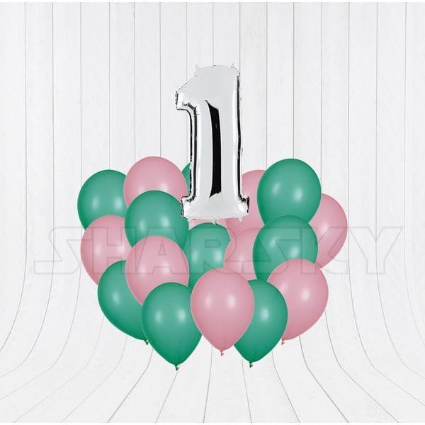 Воздушные шары. Доставка в Москве: Шарики на День Рождения годик Цены на https://sharsky.msk.ru/