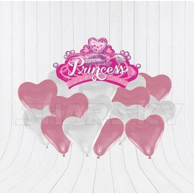 Корона с сердцами для девочки