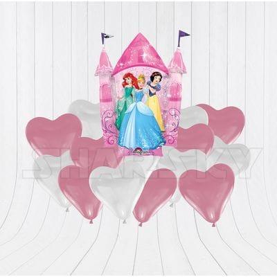 Принцессы с сердцами для девочки