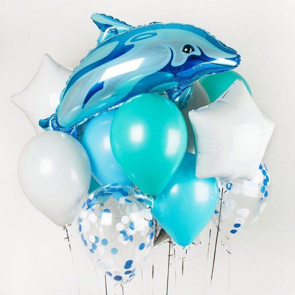 Воздушные шары. Доставка в Москве: Дельфин Цены на https://sharsky.msk.ru/