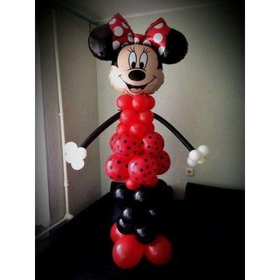 "Фигура из шариков ""Минни Маус"""