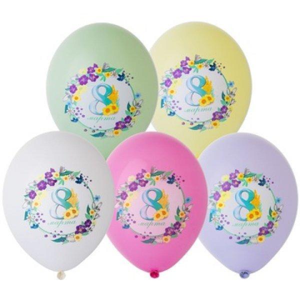Воздушные шары. Доставка в Москве: Шары на 8 марта, 35 см Цены на https://sharsky.msk.ru/
