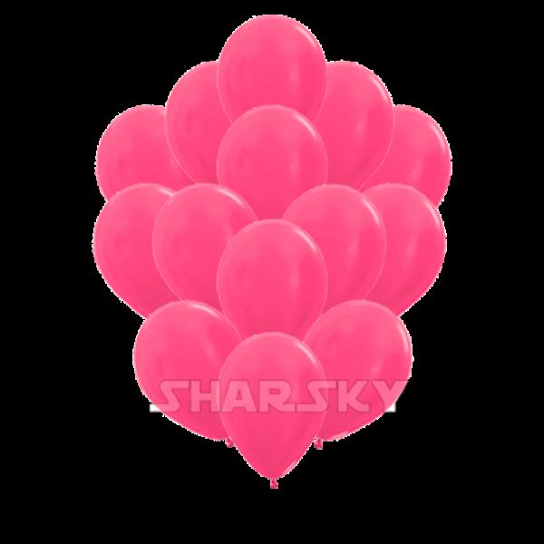 Воздушные шары. Доставка в Москве: Шарики фуксия, 35 см Цены на https://sharsky.msk.ru/