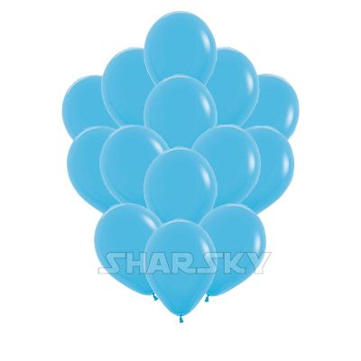 Голубые шары, 35 см