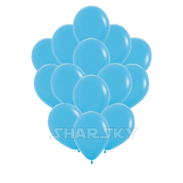 Воздушные шары. Доставка в Москве: Голубые шары, 35 см Цены на https://sharsky.msk.ru/