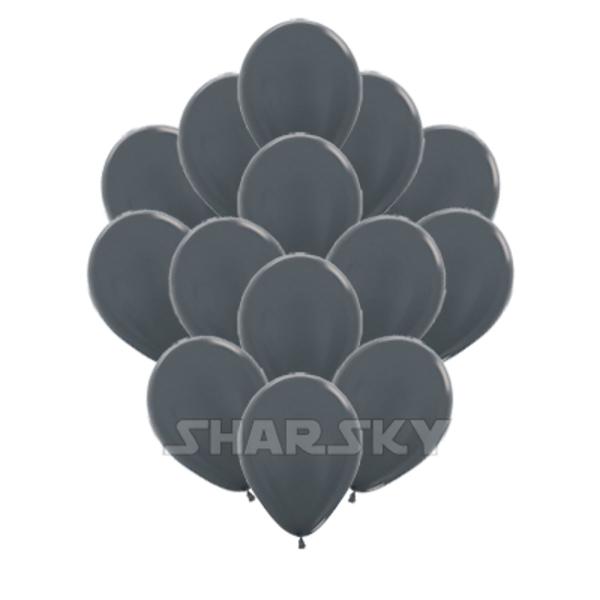 Воздушные шары. Доставка в Москве: Графитовые шарики, 35 см Цены на https://sharsky.msk.ru/