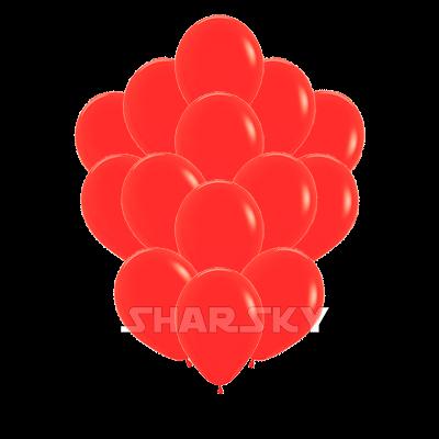 Красные шары, 35 см