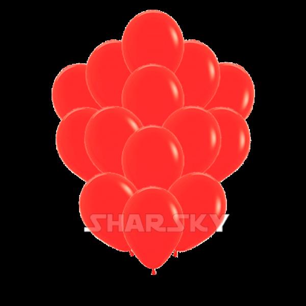 Воздушные шары. Доставка в Москве: Красные шары, 35 см Цены на https://sharsky.msk.ru/