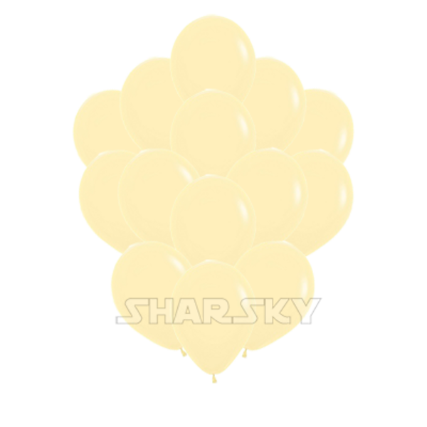 Воздушные шары. Доставка в Москве: Кремовые шарики, 35 см Цены на https://sharsky.msk.ru/