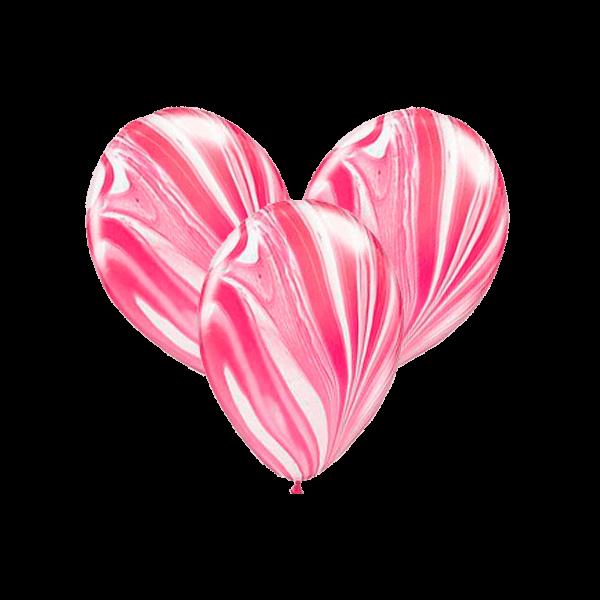 Воздушные шары. Доставка в Москве: Шарики-агаты красные Цены на https://sharsky.msk.ru/
