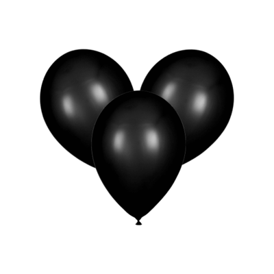 Чёрные воздушные шары