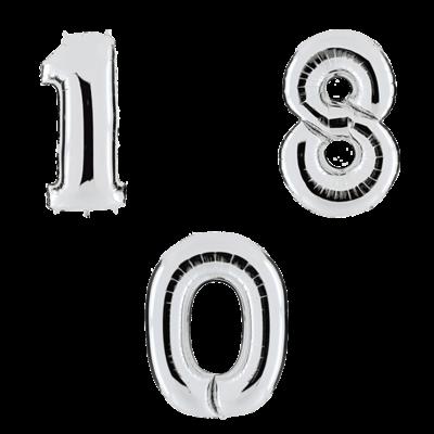 Серебряные цифры