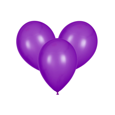 Фиолетовые воздушные шары