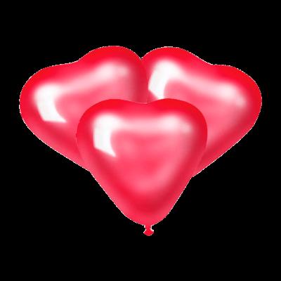 Шарики Красные сердца