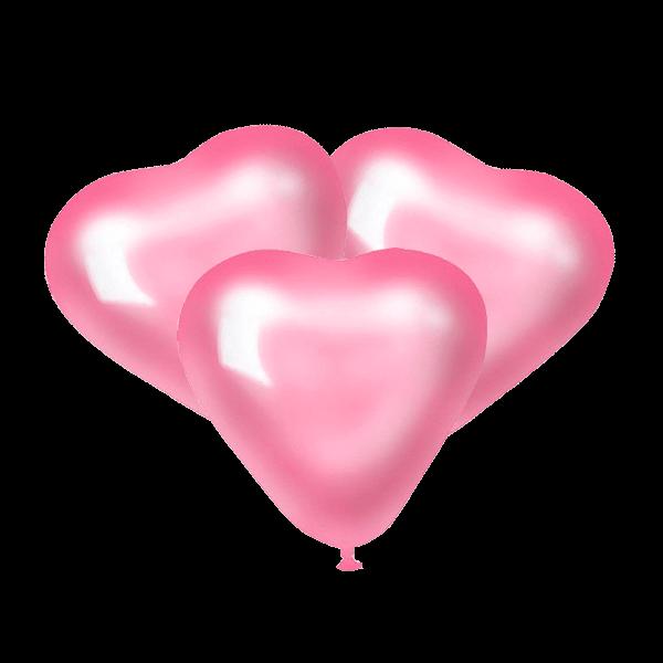 Воздушные шары. Доставка в Москве: Шары Розовые сердца Цены на https://sharsky.msk.ru/