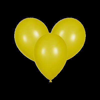 Жёлтые воздушные шары