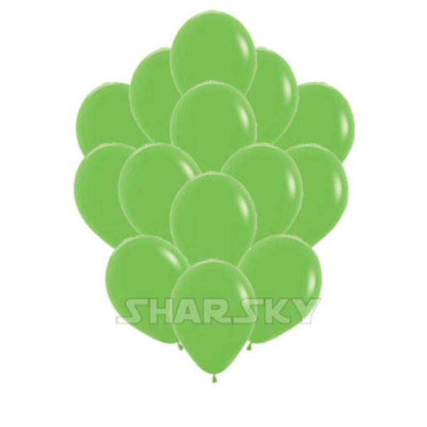 Воздушные шары. Доставка в Москве: Салатовые шарики, 35 см Цены на https://sharsky.msk.ru/