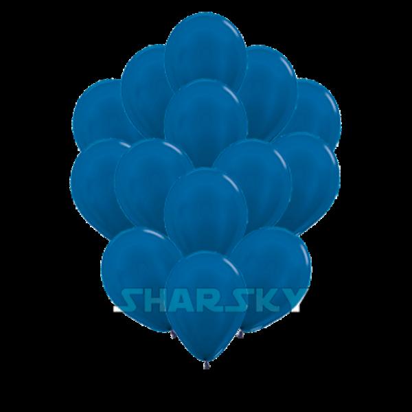 Воздушные шары. Доставка в Москве: Синие шары, 35 см Цены на https://sharsky.msk.ru/