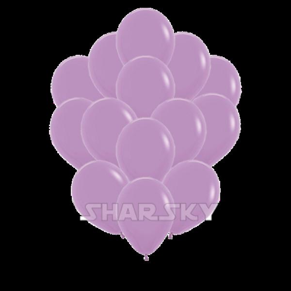 Воздушные шары. Доставка в Москве: Сиреневые шары, 35 см Цены на https://sharsky.msk.ru/