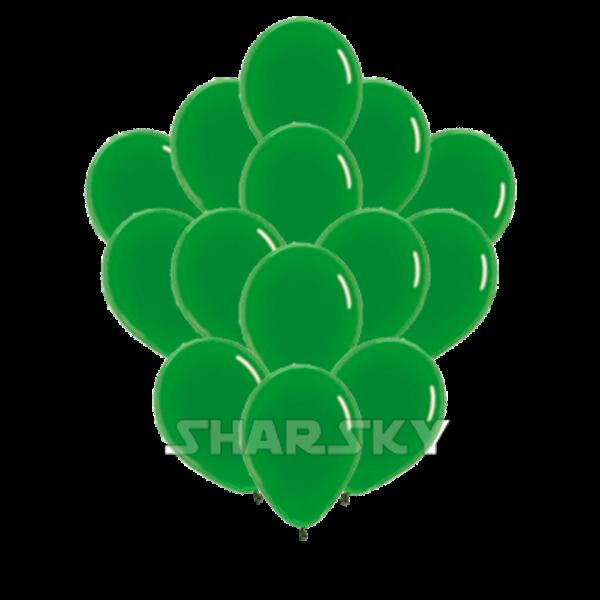 Воздушные шары. Доставка в Москве: Зеленые шары, 35 см Цены на https://sharsky.msk.ru/
