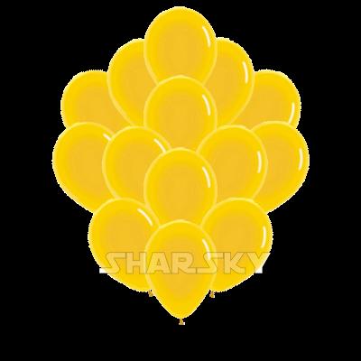 Желтые шары, 35 см