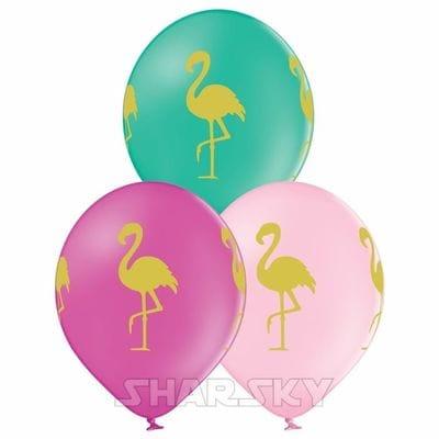 "Шары ""Фламинго"", 35 см"