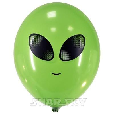 """Шары """"Инопланетянин"""", 35 см"""