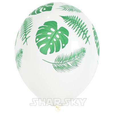 """Шары """"Тропические листья"""", 35 см"""