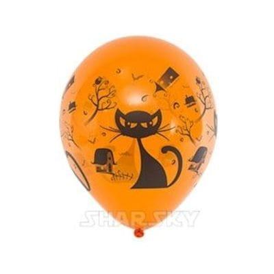 """Шары """"Черная кошка"""", 35 см"""