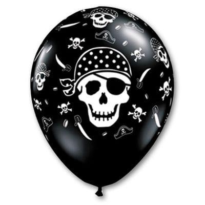 Шары пиратский череп, 35 см
