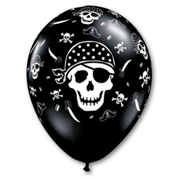 Воздушные шары. Доставка в Москве: Шары пиратский череп, 35 см Цены на https://sharsky.msk.ru/