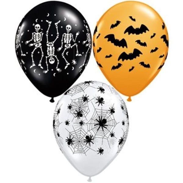 """Воздушные шары. Доставка в Москве: Шары """"Вечеринка Хеллоуин"""", 35 см Цены на https://sharsky.msk.ru/"""