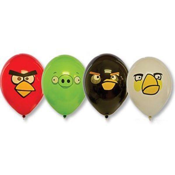 """Воздушные шары. Доставка в Москве: Шарики """"Angry Birds"""", 35 см Цены на https://sharsky.msk.ru/"""